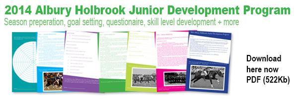 Junior Development Program 2014