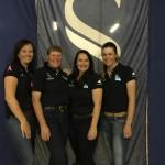 Committee members Prue Ireland, Sara Grills, Jess Fletcher & Lucy Grills.