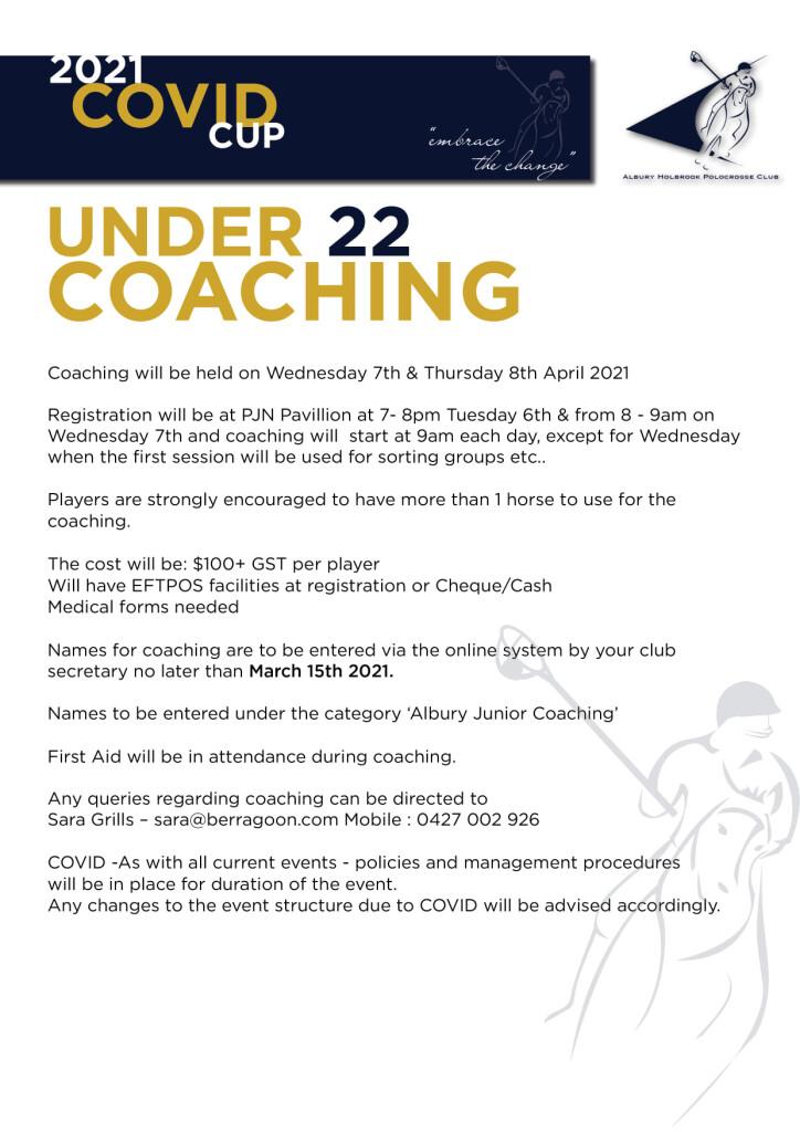 AHPC Coaching 2021